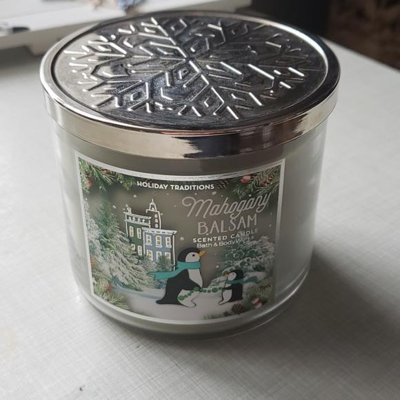 Mahogany Balsam Holiday Candle